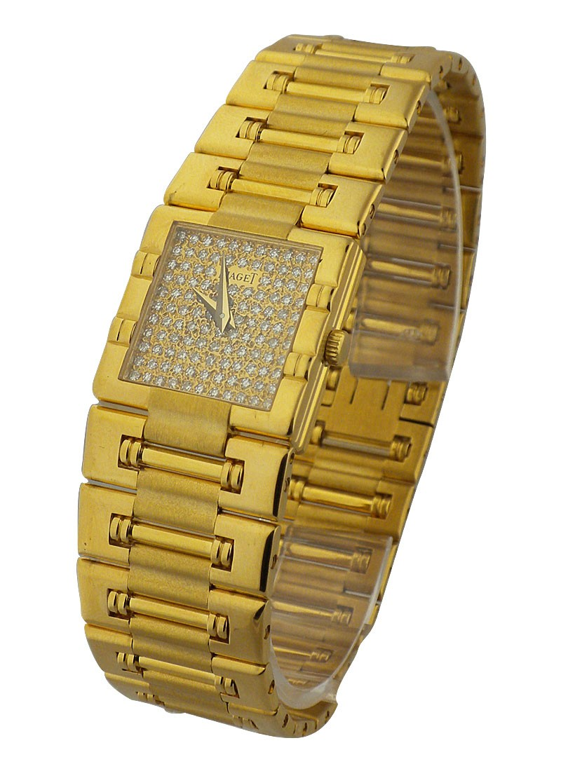Piaget Dancer Square Lady's in Yellow Gold