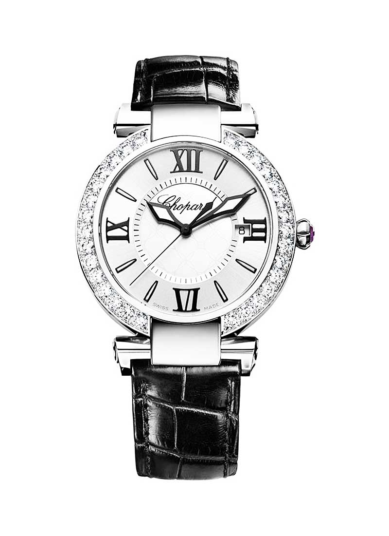 Chopard Imperiale in Steel with Diamond Bezel