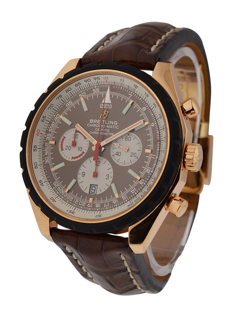 Breitling Navitimer Chrono matic 49mm in Rose Gold