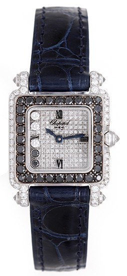 Chopard Happy Sport Square 5 Floating Diamonds