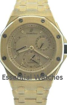 Audemars Piguet Offshore Time Zone in Yellow Gold - Limited to 20 pcs