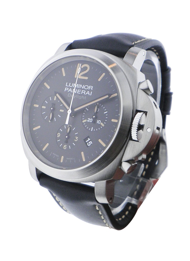 Panerai PAM 356 - Luminor Chrono Daylight in Steel