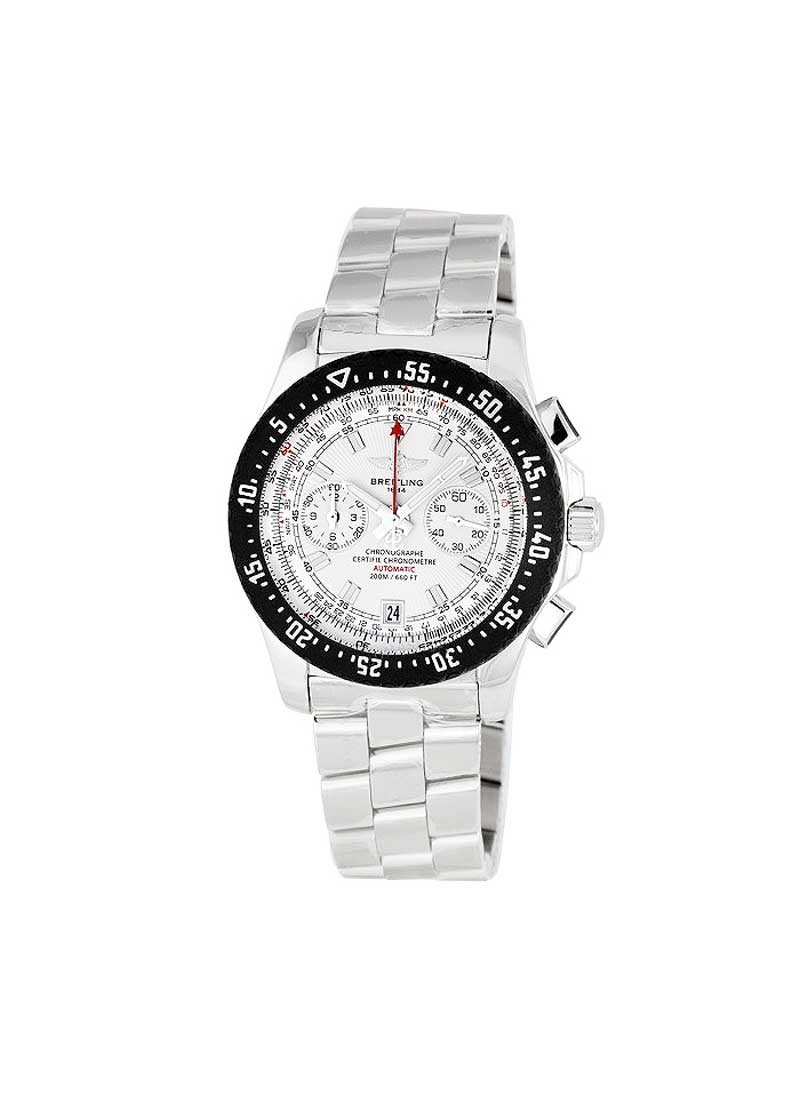 Breitling Skyracer Raven Chronograph in Steel with Black Bezel