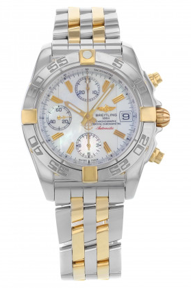 Breitling Windrider Chrono-Galactic 39mm Automatic in Steel and Yellow Gold