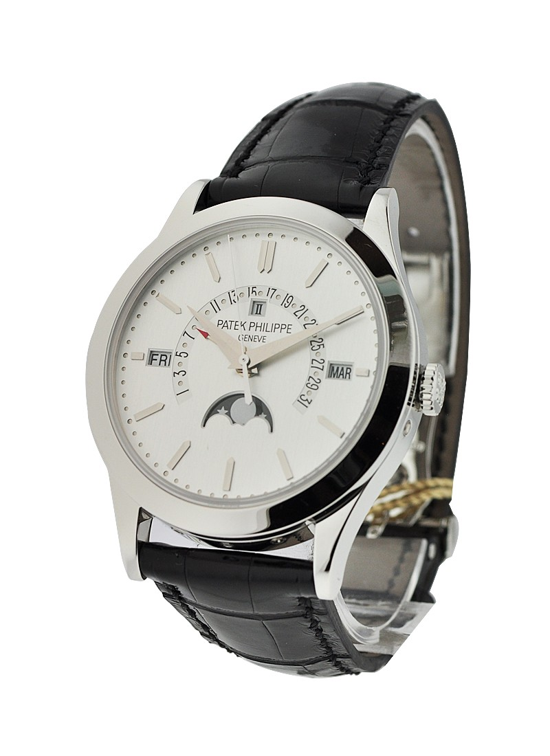Patek Philippe 5496 Perpetual Calendar Retrograde in Platinum