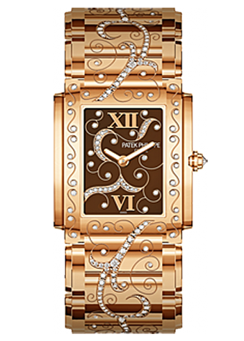 Patek Philippe Lady''s Twenty-4 in Rose Gold