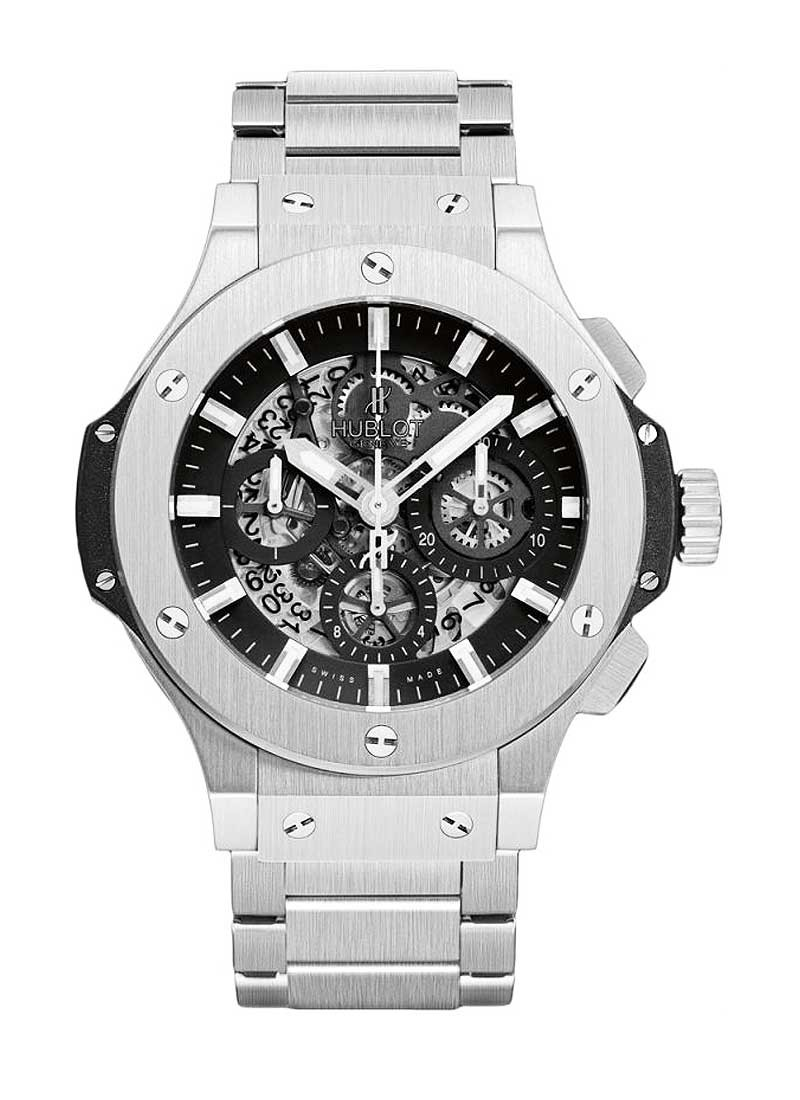 Hublot Big Bang 44mm Aero Bang in Steel