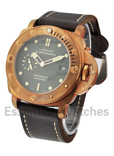 Panerai PAM 382   Bronzo   1950 Submersible 3 Day in Bronze