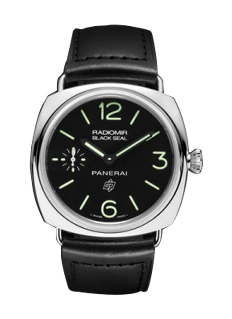 Panerai PAM 380 - Radiomir Black Seal in Steel