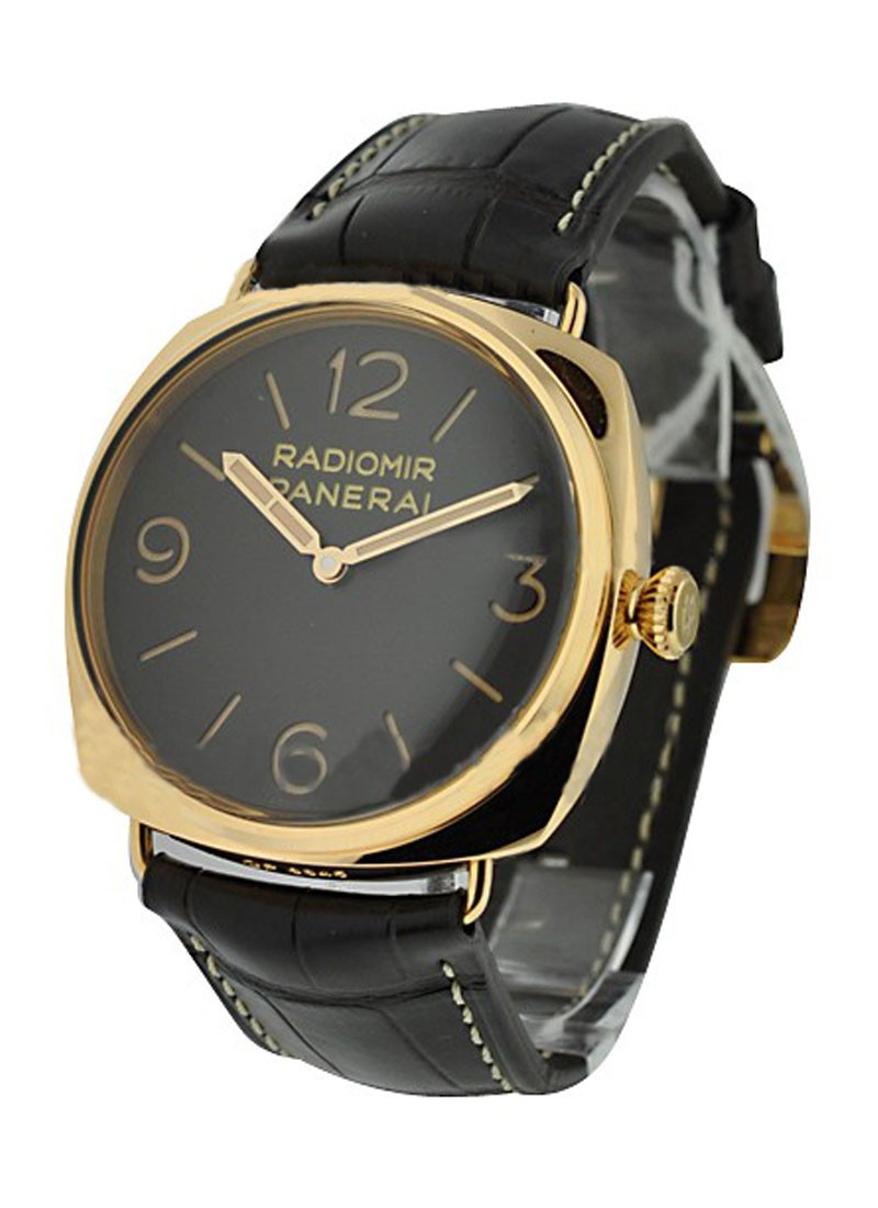 Panerai PAM 379 - Rose Gold 3 Day Radiomir in Rose Gold