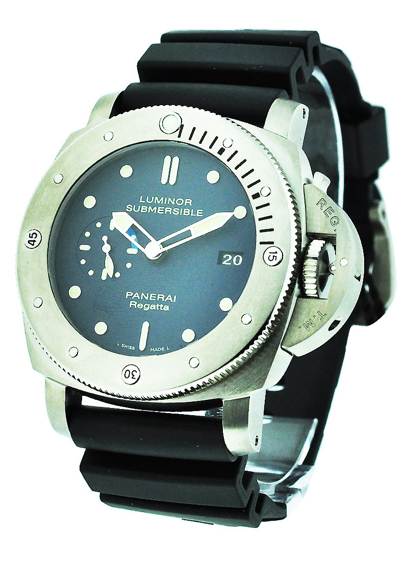 Panerai PAM 371 - Luminor Submersible 1950 Regatta  3 Days in Steel