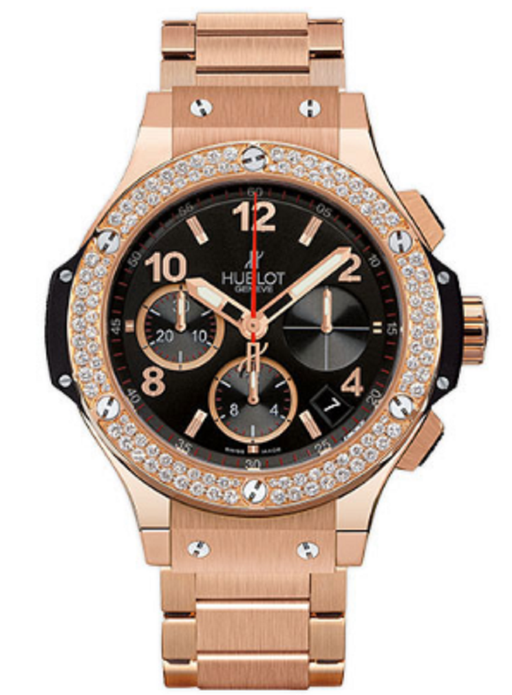 Hublot Big Bang 41mm in Rose Gold with Diamond Bezel