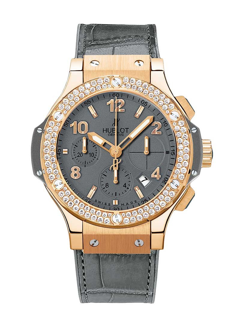 Hublot Big Bang 41mm Earl Grey in Rose Gold