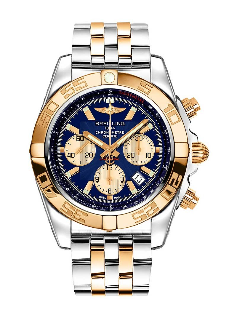 Breitling Chronomat B01 Men's Automatic Chronograph in 2 Tone