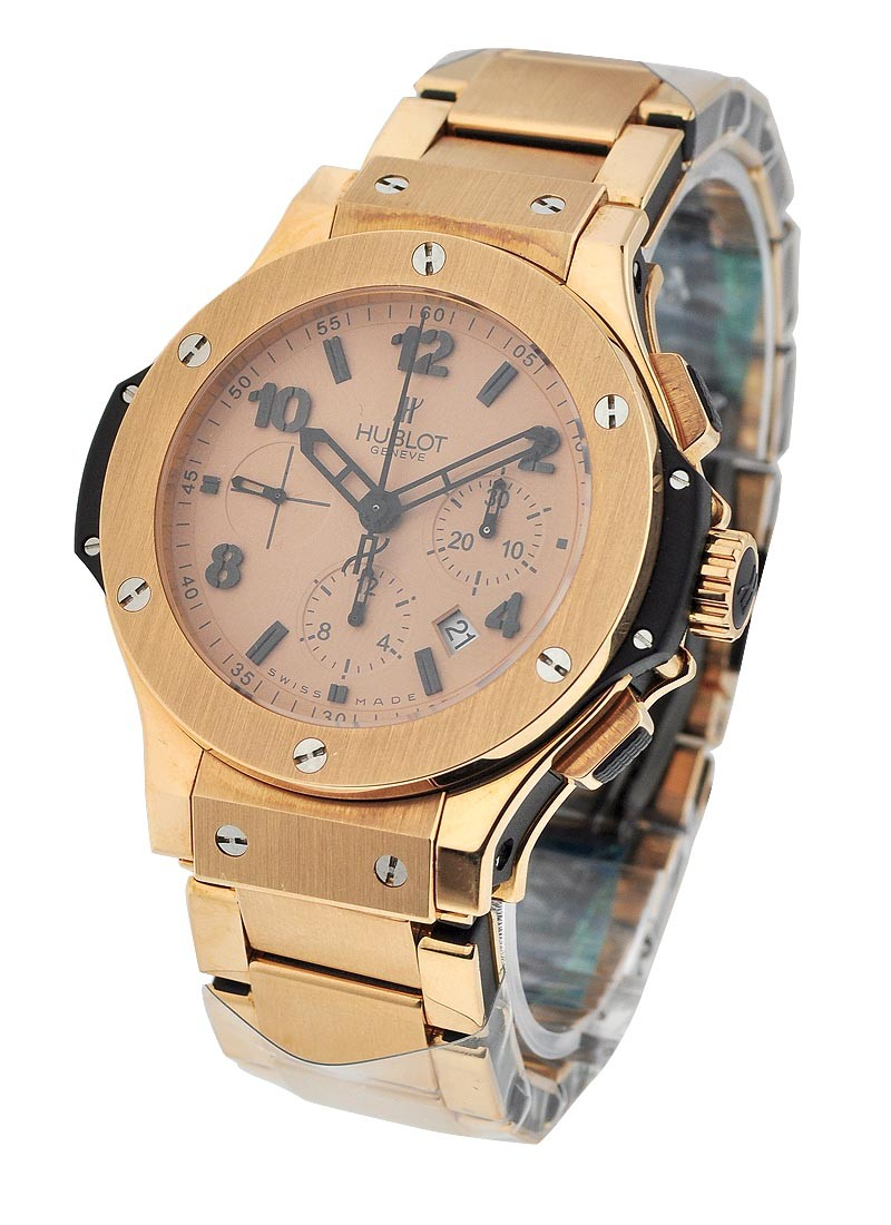 Hublot Big Bang 44mm with Matt Rose Gold Bracelet