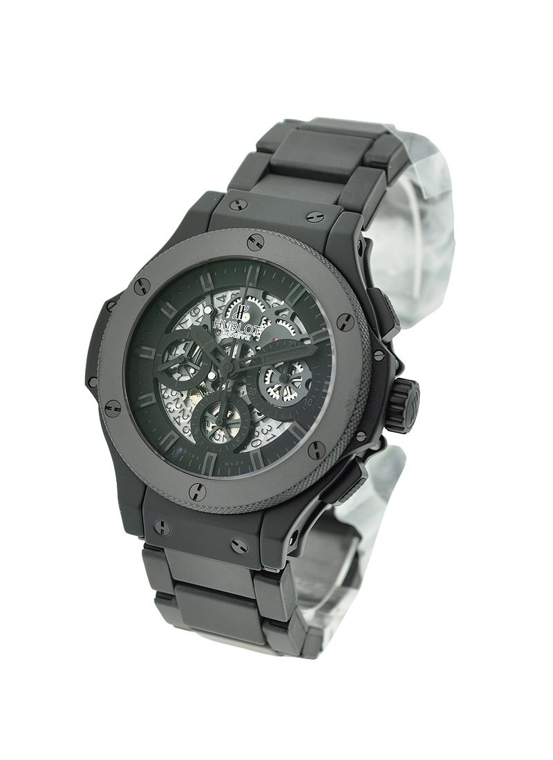 Hublot Aero Bang All Black II in Black Ceramic