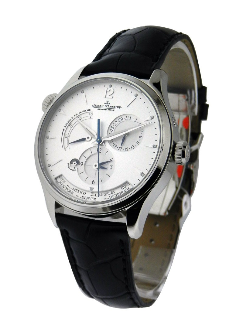 Jaeger - LeCoultre Master Geographic in Steel