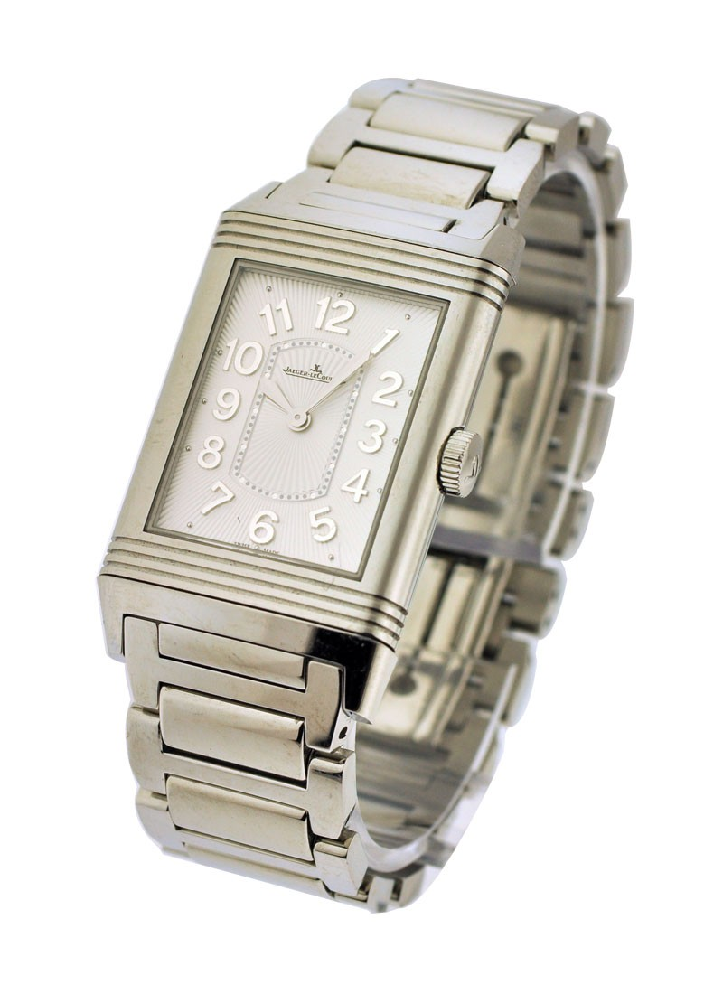 Jaeger - LeCoultre Grande Reverso Lady Ultra Thin in Steel