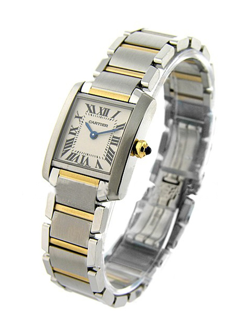 Cartier Tank Francaise Small Size in 2 - Tone