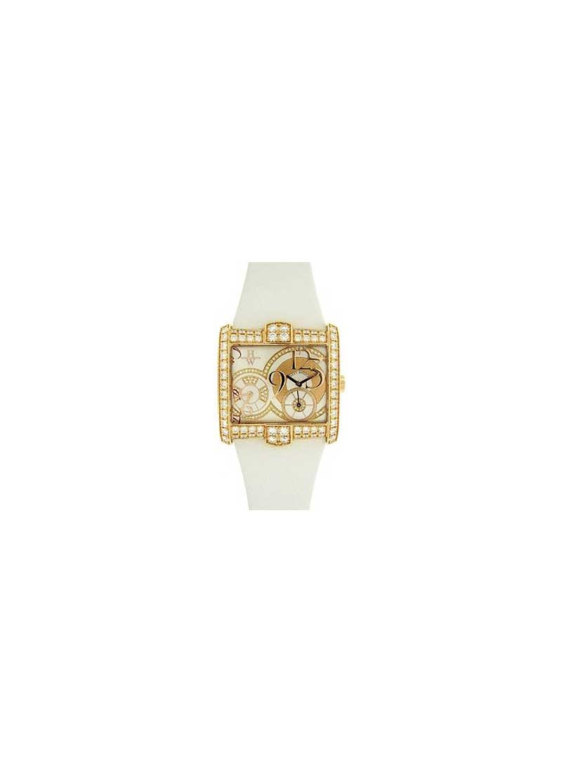 Harry Winston Avenue Squared Dual Time 2010 Special Edition