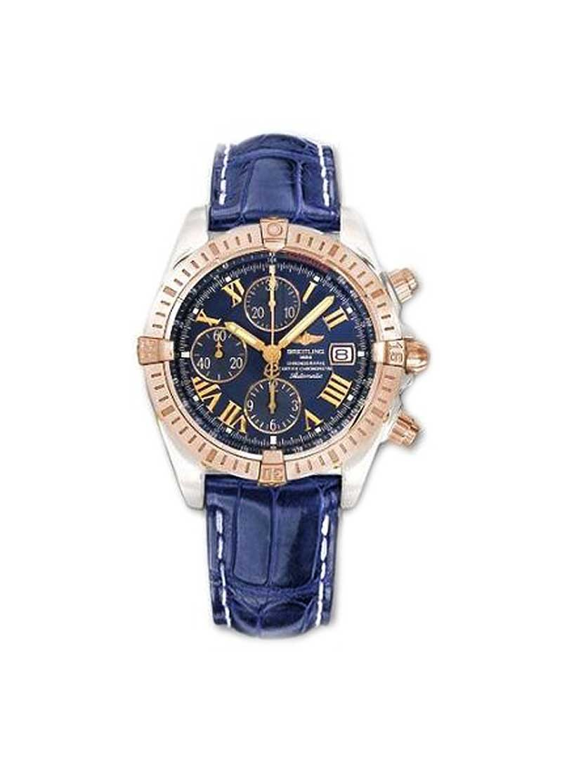Breitling Chronomat B01 Men''s Automatic Chronograph in 2-Tone