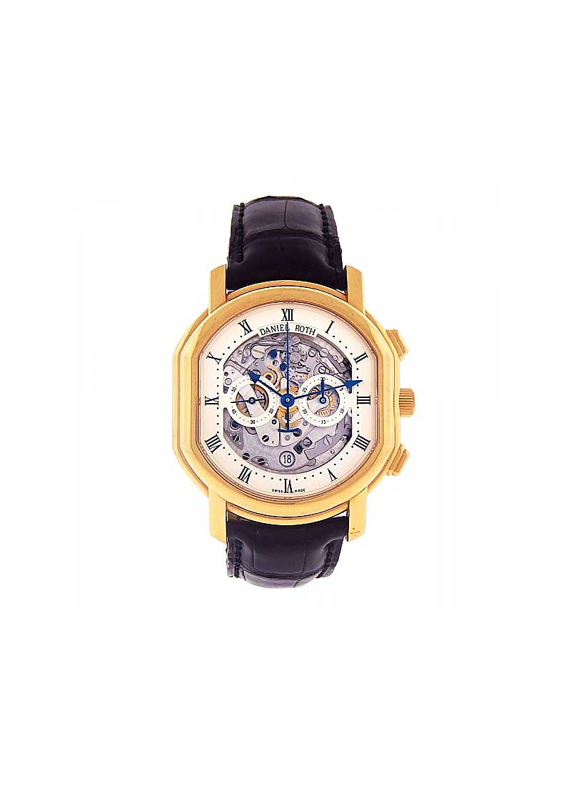 Daniel Roth Academic Ellipsocurvex Chronomax in Yellow Gold