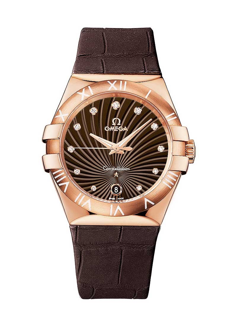 Omega Constellation Ladies in Rose Gold