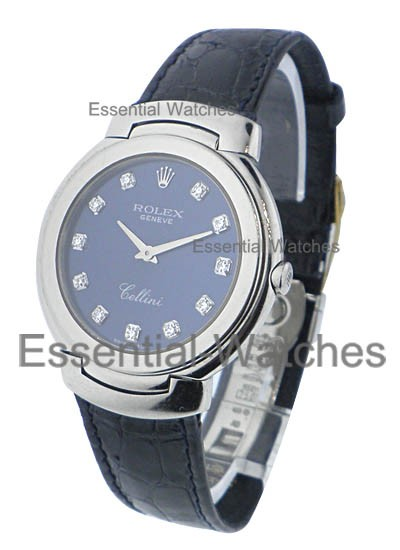 Pre-Owned Rolex Cellini - 31mm -  Mid Size in White Gold