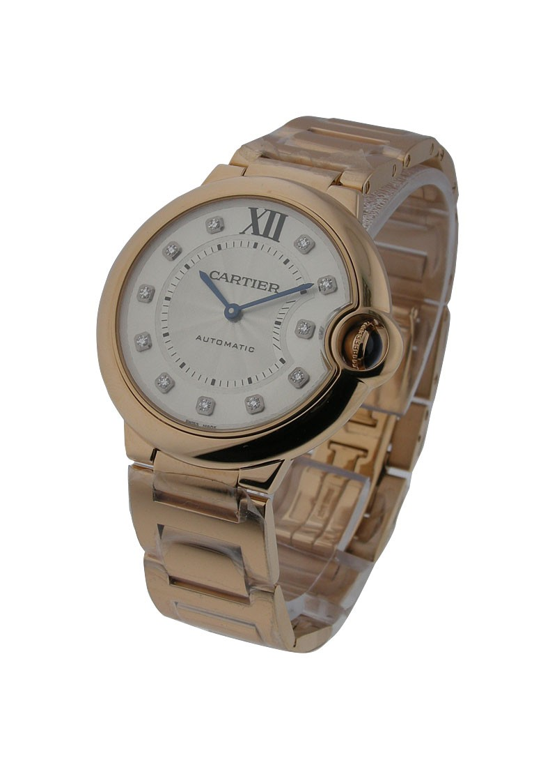Cartier Ballon Bleu Mid Size in Rose Gold