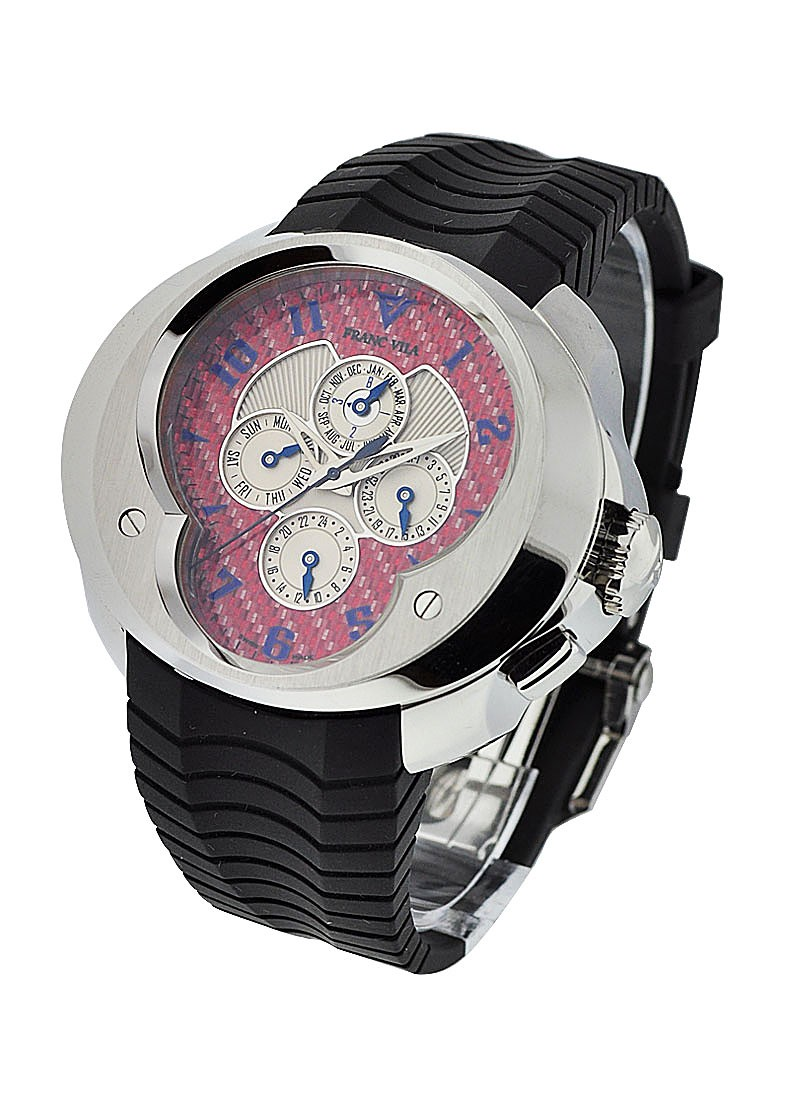 Franc Vila Perpetual Calendar with 2nd TIme Zone  FVa10
