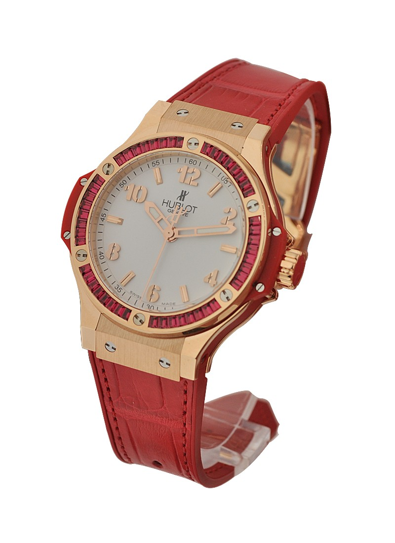 Hublot Big Bang Tutti Frutti with Red Spinelle Bezel