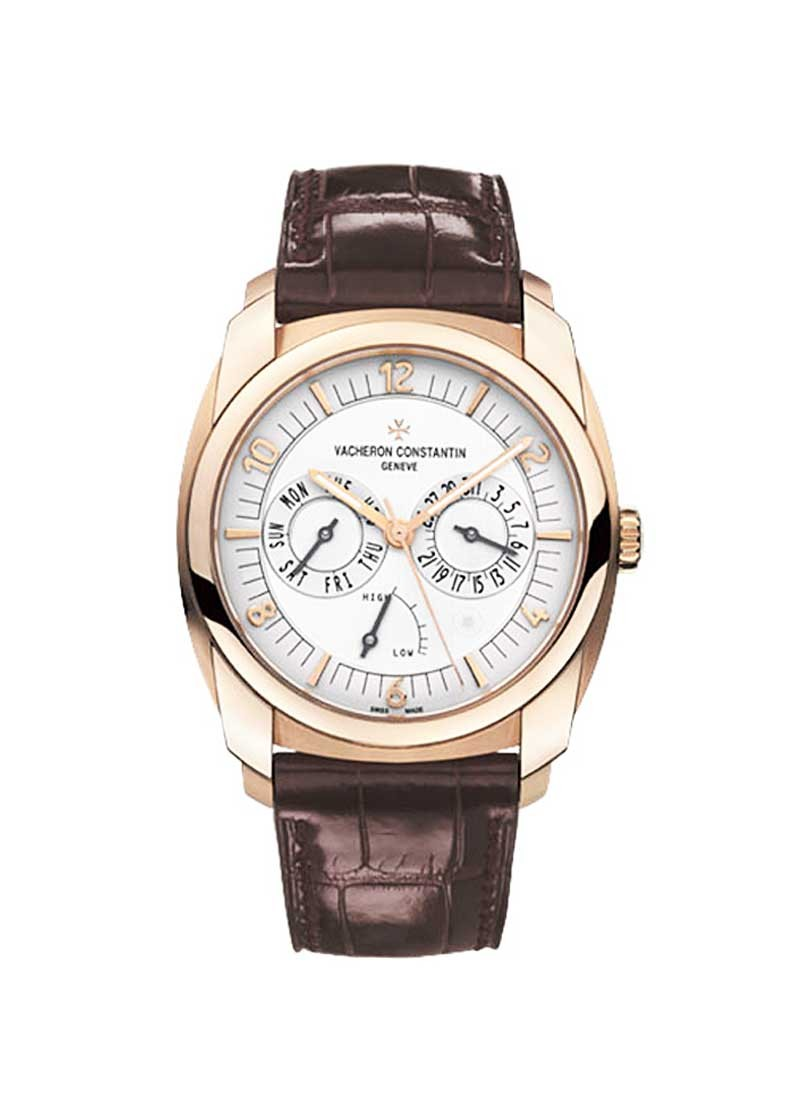 Vacheron Constantin Quai de I''lle Day Date Power Reserve in Rose Gold