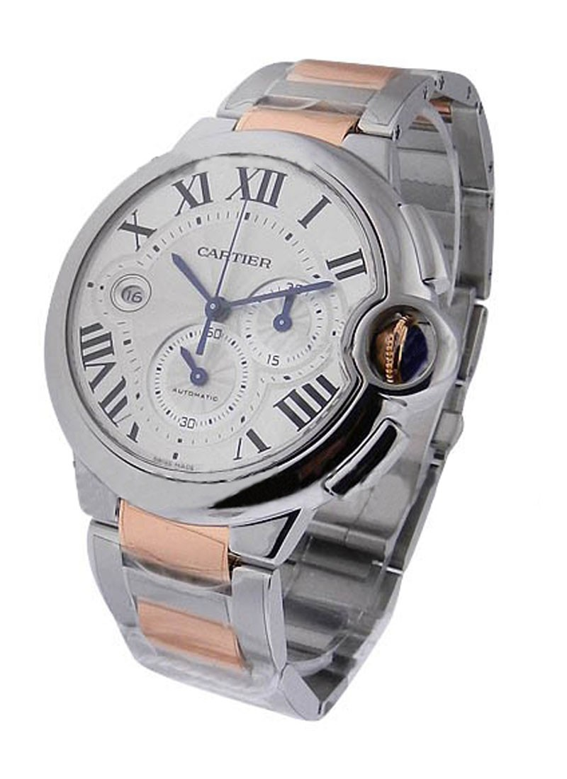 Cartier Cartier Ballon Bleu Chronograph in Steel