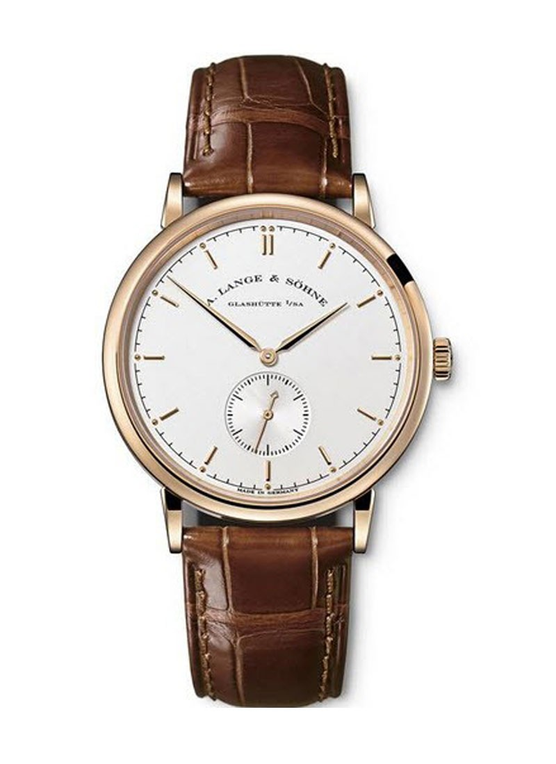 A. Lange & Sohne Saxonia Thin  Manual in Rose Gold