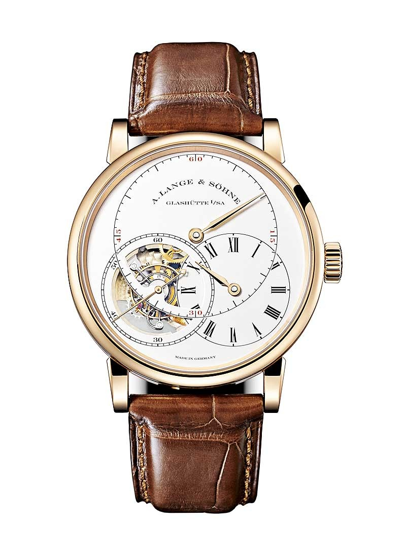 A. Lange & Sohne ichard Lange Tourbillon Pour le Merite in Rose Gold