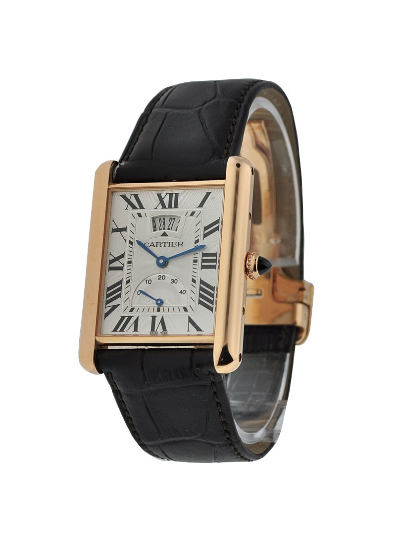 Cartier Tank Louis Cartier in Rose Gold with Large Date