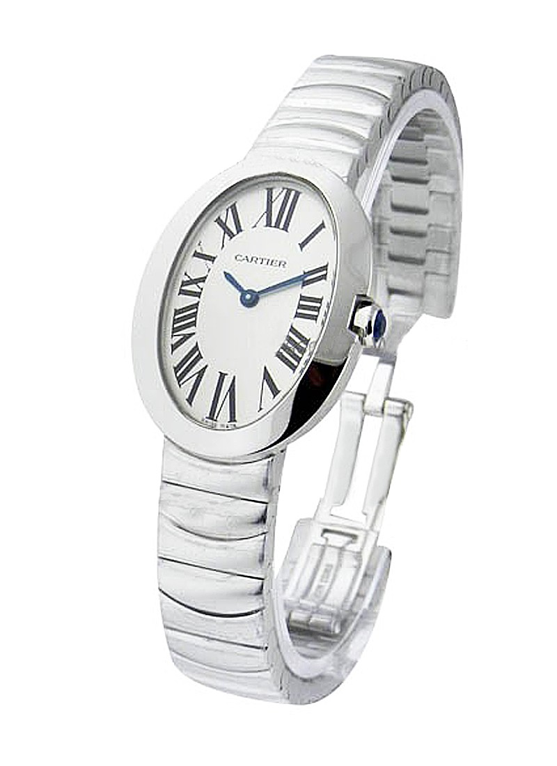 Cartier Baignoire Small in White Gold