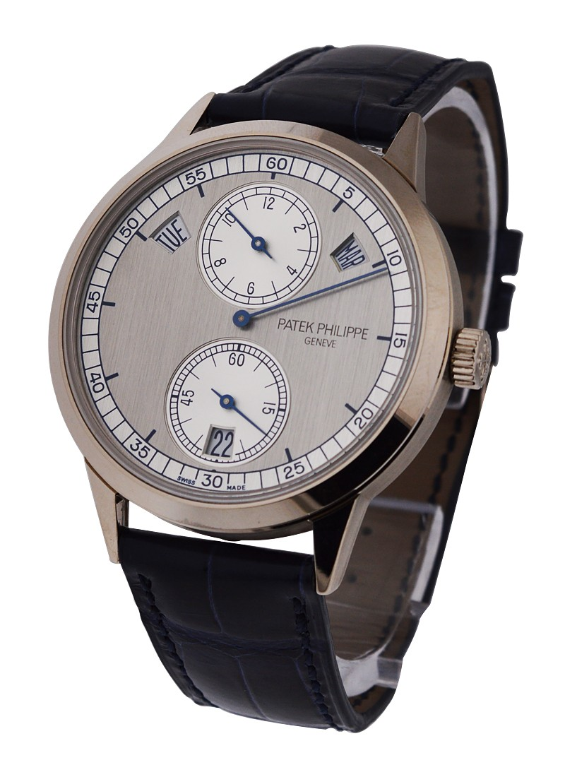 Patek Philippe Annual Calendar Ref 5235G Regulator in White Gold