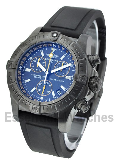 Breitling Avenger Seawolf Chronograph Code Yellow in Steel