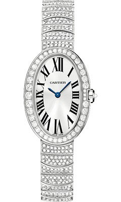 Cartier Baignore with Diamonds - Small Size