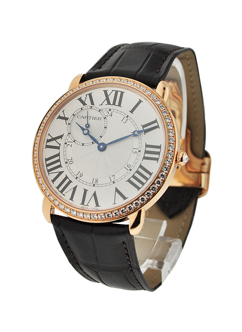 Cartier Ronde Louis Cartier - Diamond Bezel