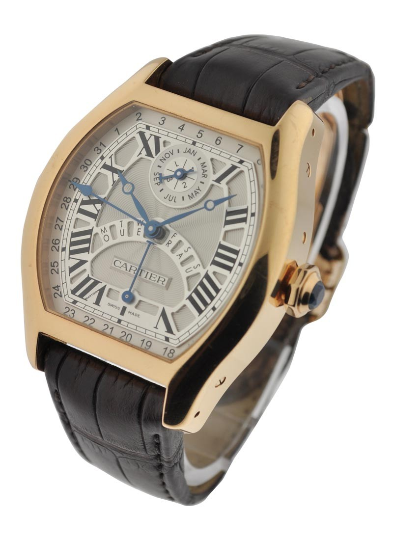 Cartier Tortue Perpetual Calendar Privee Collection