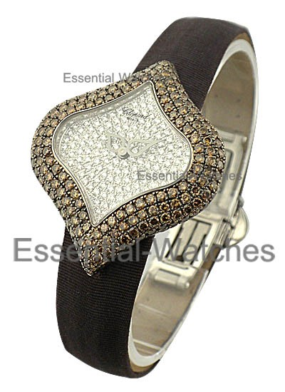 Chopard Pushkin Full Pave with Brown Diamonds