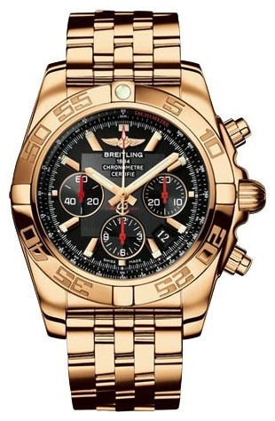 Breitling Chronomat B01 Men''s Automatic Chronograph in Rose Gold