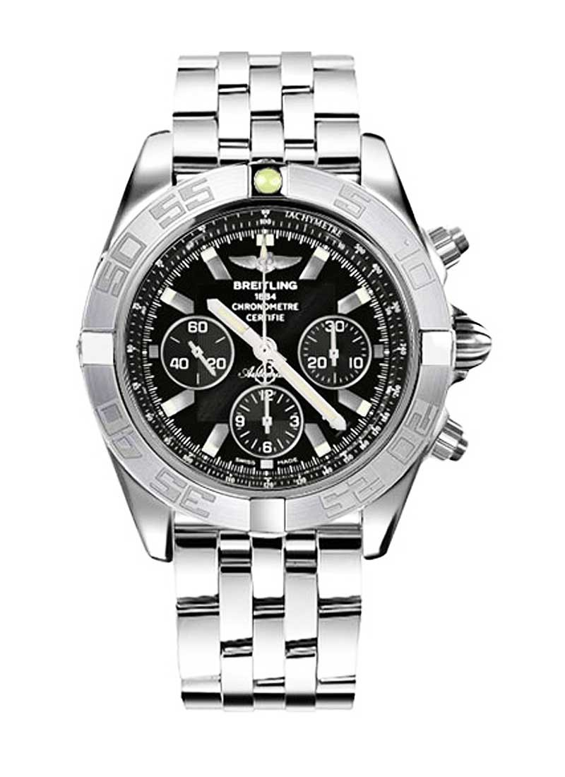 Breitling Chronomat B01 Men's Automatic in White Gold