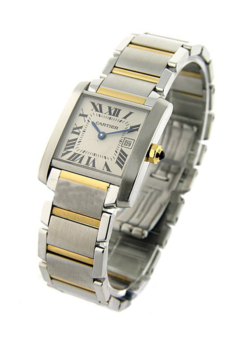 Cartier Tank Francaise 2-Tone Mid Size
