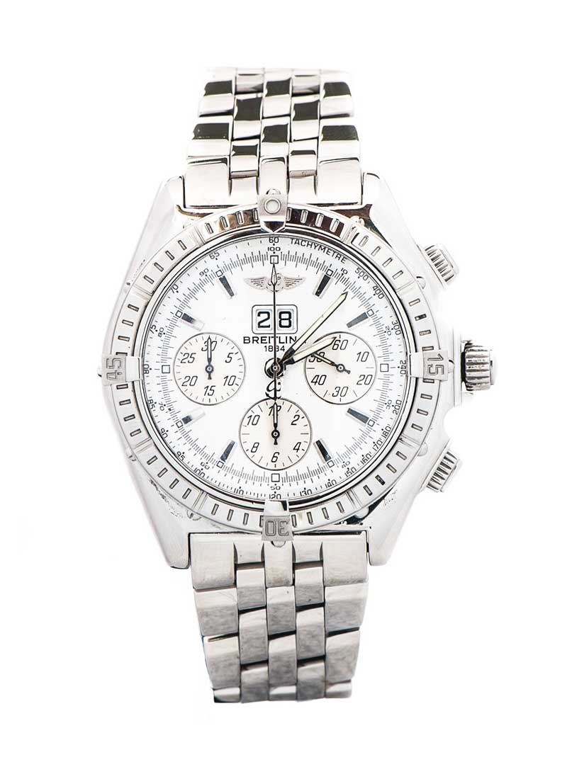 Breitling Windrider Crosswind Automatic in White Gold