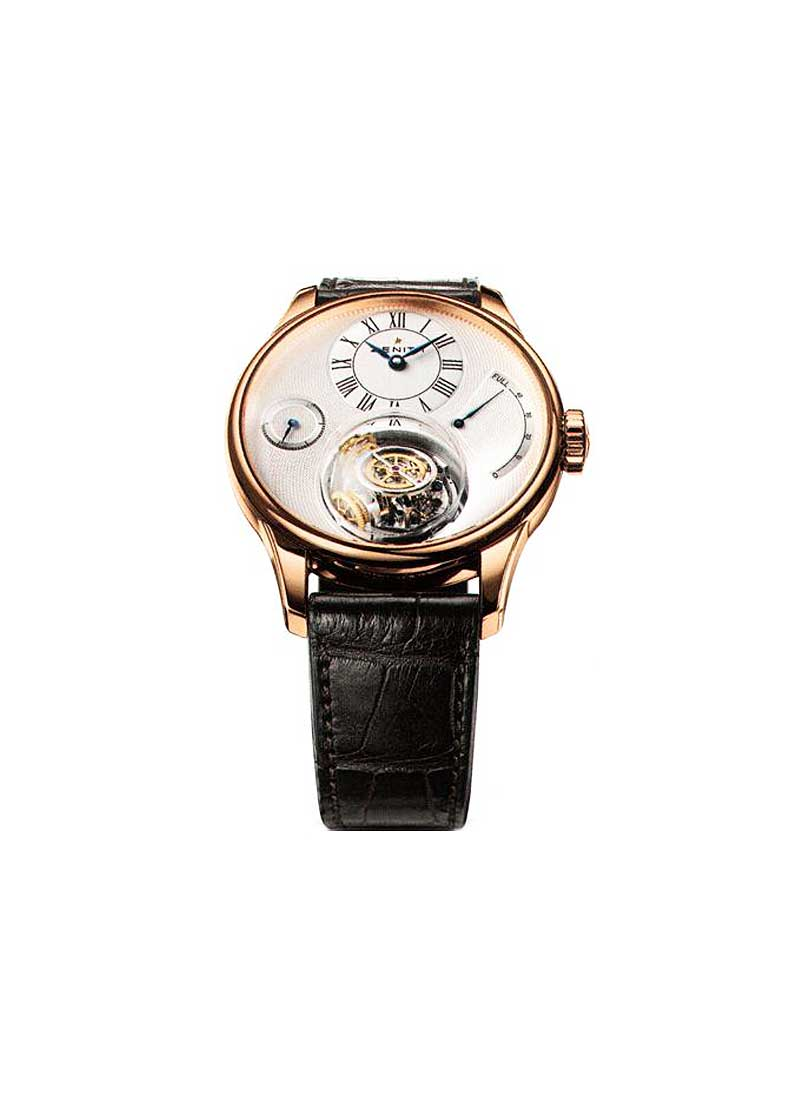 Zenith Academy Tourbillon Chritophe Colomb in Rose Gold