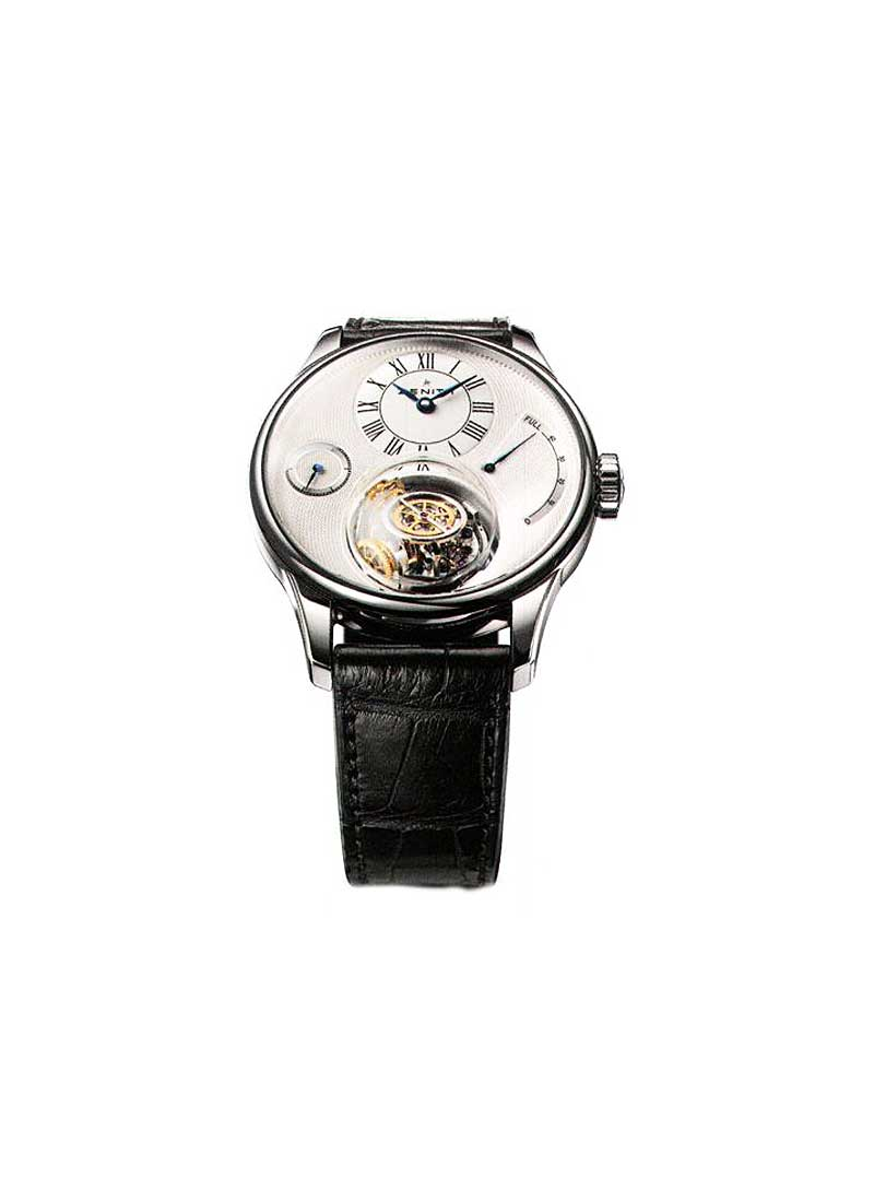 Zenith Academy Tourbillon Chritophe Colomb in White Gold