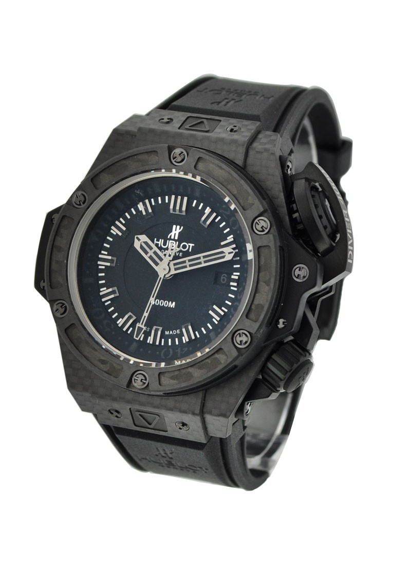 Hublot King Power Oceanographic 4000 in Black Carbon Fiber